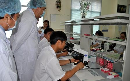Các trường đào tạo Y dược cũng đã ứng ddungjCNTT trong đào tạo