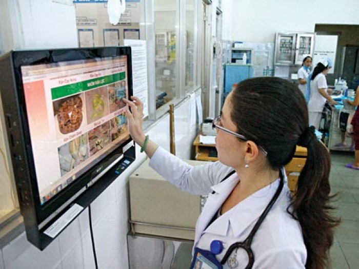 Công nghệ thông tin mang lại nhiều hiệu quả trong việc khám chữa bệnh