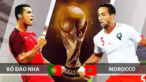 Nhận định soi kèo World Cup Bồ Đào Nha vs Marocco, 20h00 ngày 20/06 1