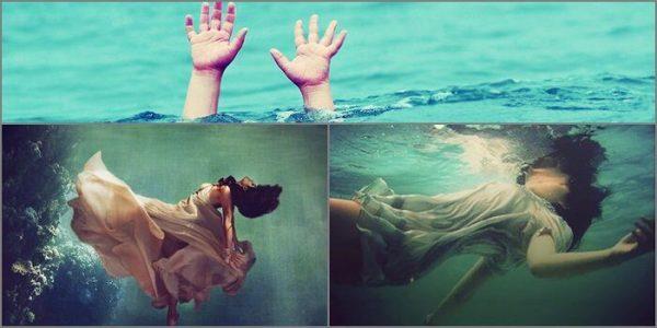 mơ thấy người chết đuối